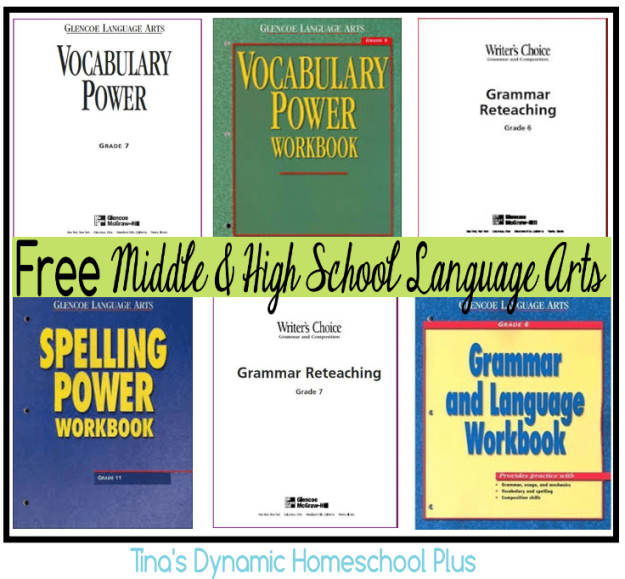 Free-Middle-and-High-School-Homeschool-English-Language-Arts-www.feedourlife.blog