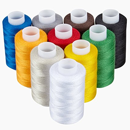 Cotton Threads 100% polyester