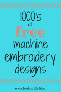List of Free Embroidery Designs - 1000's of free machine embroidery designs - beautiful machine embridery designs