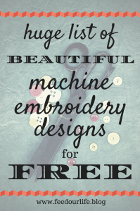 List of Free Embroidery Designs / huge list of beautiful machine embroidery designs for free