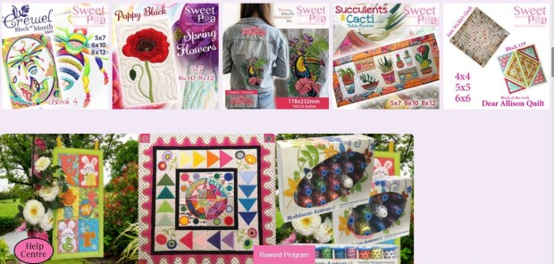 Sweet Pea sample designs other products.jpg