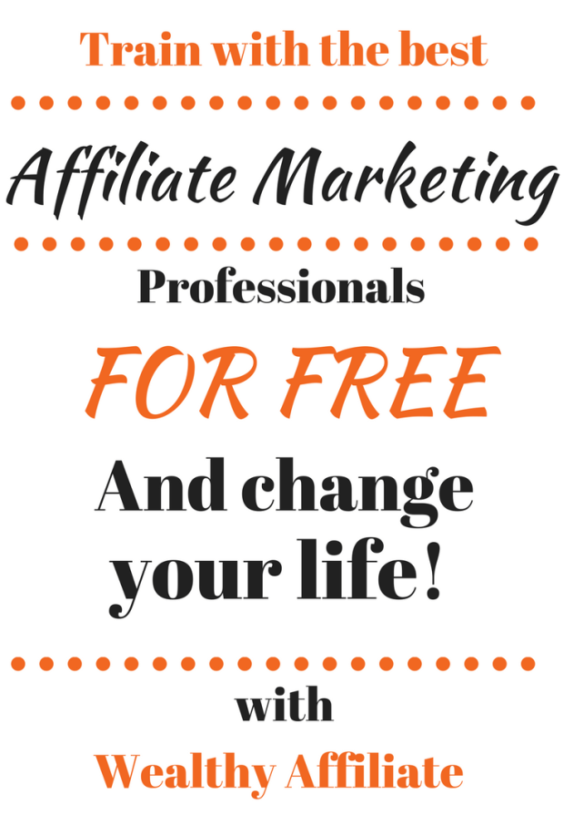 Wealthy Affiliate Program - Join the best Affiliate Mrketing professionals for free and change your life!