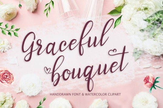 Graceful handwriting Font for blogs