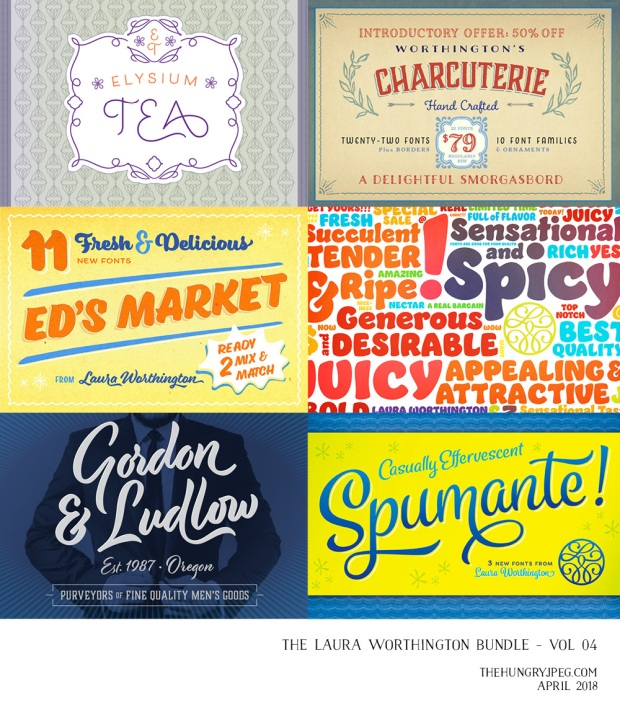 Laura Worthington Fonts and scripts for blogs and wedding stationery