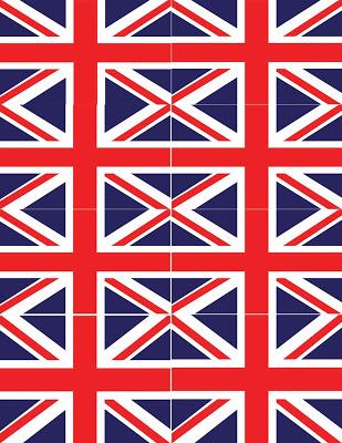 Royal Wedding Crafts - Paper bunting & Flags Printable