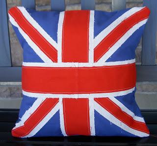 Royal Wedding Crafts - Union Jack Cushion Cover