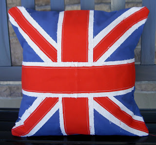 Royal Wedding Crafts - Union Jack Cushion Cover