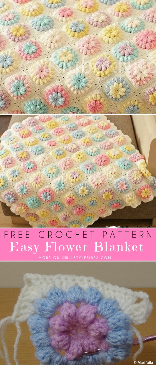 35 of The Best FREE Crochet Blanket Patterns – Feed Our Life