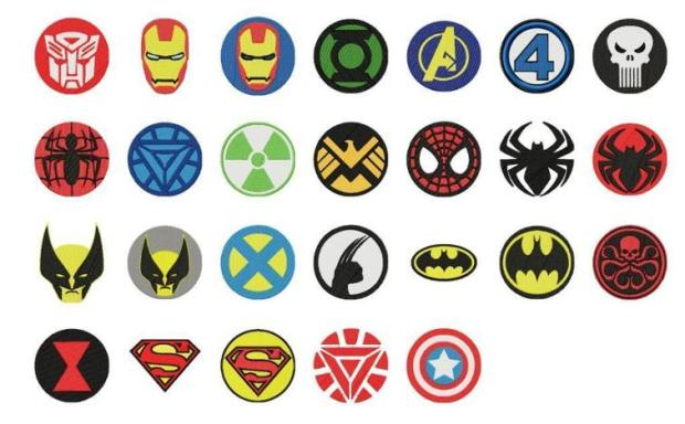 Super Hero embroidery designs for kids - embroidery patterns for kids, www.feedourlife.blog