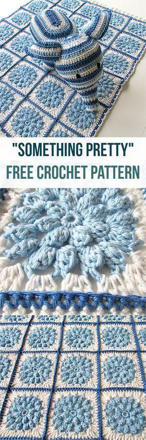 Little Popcorn Daisy Blanket - best crochet blanket patterns - www.feedourlife.blog