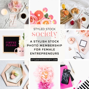 Styled Stock Society choosing the right stock images - www.feedourlife.blog