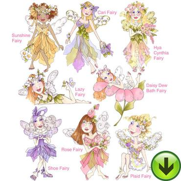 Very Fairy Embroidery Patterns For Kids Feed Our Life