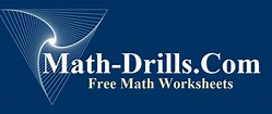 Math Drills logo wide