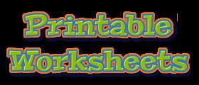 Printable Worksheets logo