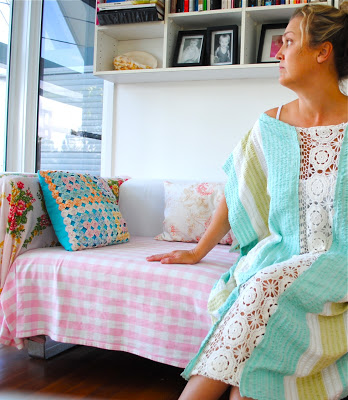 FREE PATTERN - Kaftan - by Beach Vintage and brought to you by www.feedourlife.blog