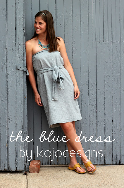FREE PATTERN - Strapless Dress - by Kojo Designs and brought to you by www.feedourlife.blog