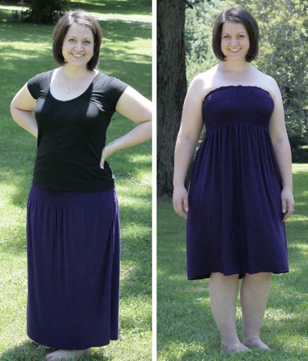 FREE PATTERN - Convertible Dress/skirt - by Craft Buds and brought to you by www.feedourlife.blog