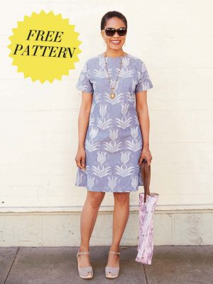 FREE PATTERN - A-line Dress - by Love Sewing Mag and brought to you by www.feedourlife.blog