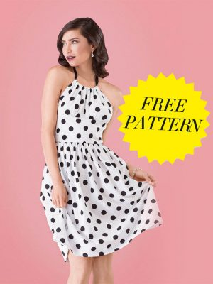 FREE PATTERN - Ava Sun Dress - by Love Sewing Mag and brought to you by www.feedourlife.blog