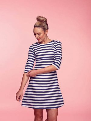 FREE PATTERN - Brigitte Dress - by Love Sewing Mag and brought to you by www.feedourlife.blog