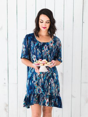 FREE PATTERN - Caroline Shift Dress - by Love Sewing Mag and brought to you by www.feedourlife.blog