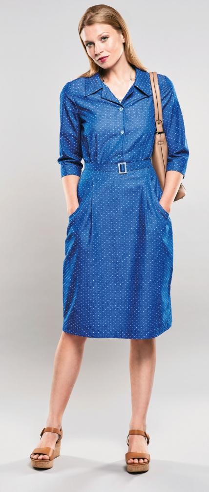 FREE PATTERN - Eilis Dress by Amanda Walker and brought to you by www.feedourlife.blog
