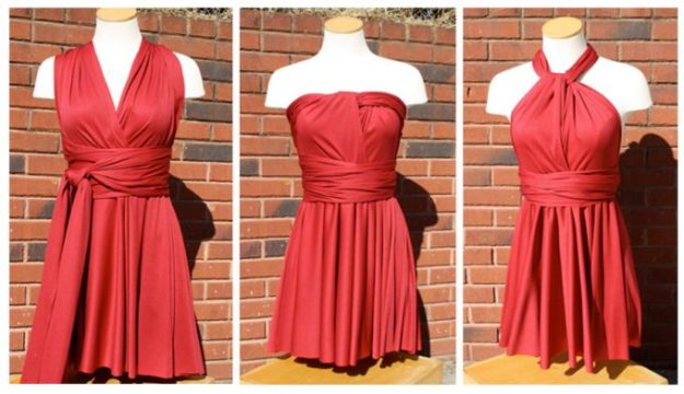 FREE PATTERN - Infinity Dress - by Sew Like My Mom and brought to you by www.feedourlife.blog