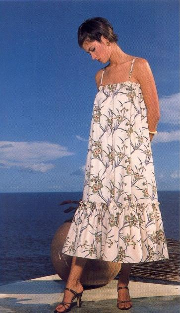 FREE PATTERN - Island Flouncer Dress - by The Weekend Designer and brought to you by www.feedourlife.blog