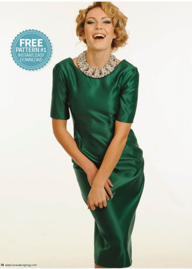 FREE PATTERN - Jackie Shift Dress by My Handmade Space and brought to you by www.feedourlife.blog