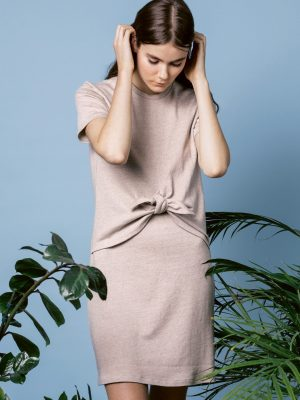 FREE PATTERN - Named Jersey Knot Dress - by Love Sewing Mag and brought to you by www.feedourlife.blog