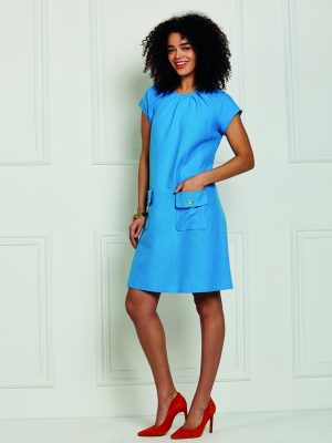 FREE PATTERN - Lillian Dress - by Love Sewing Mag and brought to you by www.feedourlife.blog