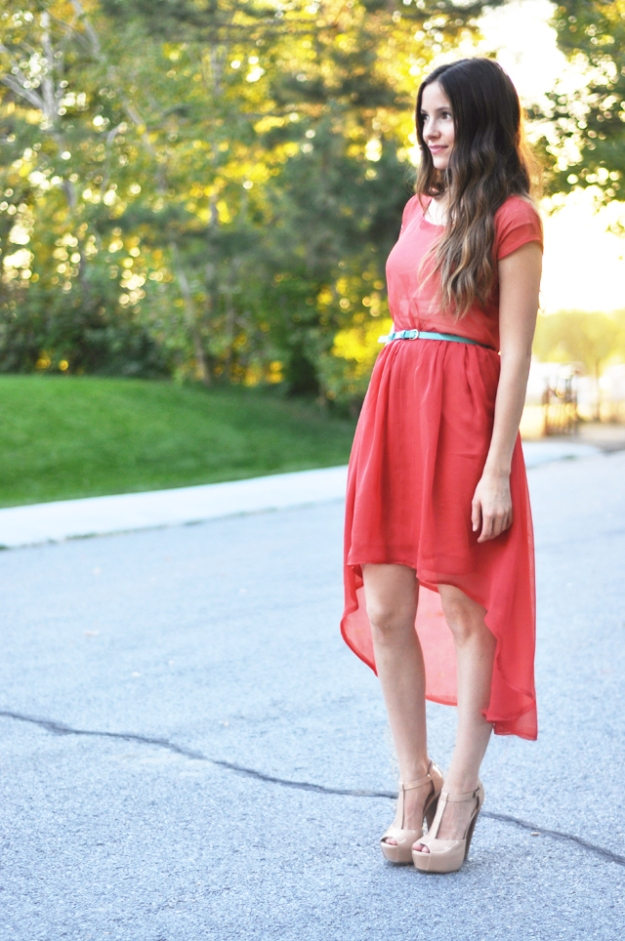 FREE PATTERN - High Low Dress by Cotton and Curls and brought to you by www.feedourlife.blog