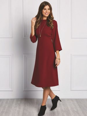 FREE PATTERN - Marjorie Empire Line Dress - by Love Sewing Mag and brought to you by www.feedourlife.blog