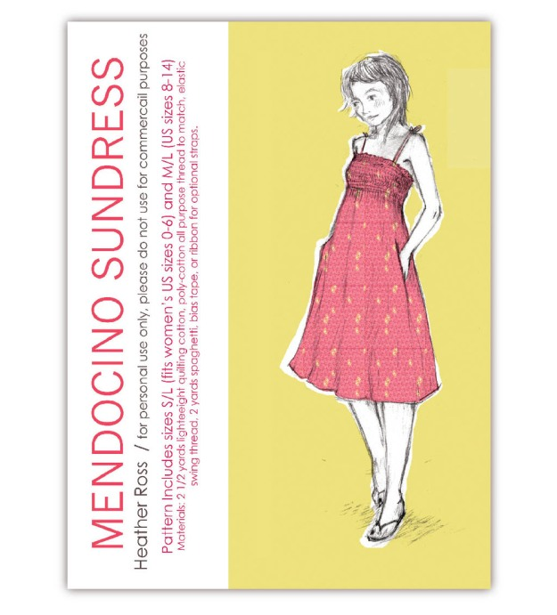FREE PATTERN - Mendocino Sundress - by Heather Ross and brought to you by www.feedourlife.blog