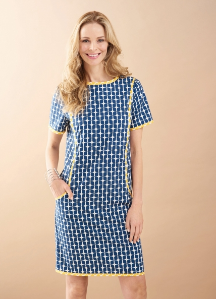 FREE PATTERN - Orla Dress by Amanda Walker and brought to you by www.feedourlife.blog