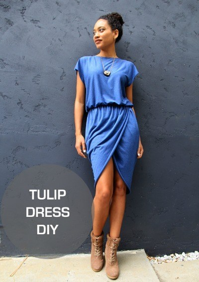 FREE PATTERN - Tulip Dress by the Felted Fox and brought to you by www.feedourlife.blog