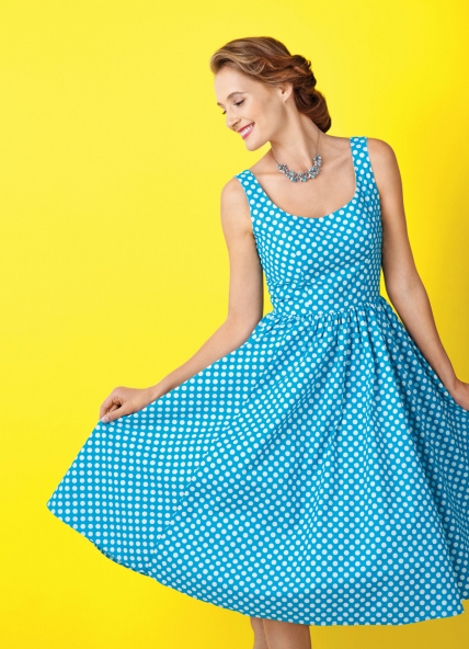 FREE PATTERN - Valentina dress by Sew Mag and brought to you by www.feedourlife.blog