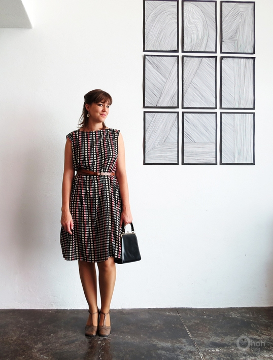 FREE PATTERN - Easy Dress Sewing Tutorial - by Oh Oh Deco and brought to you by www.feedourlife.blog
