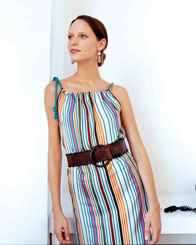 FREE PATTERN - Elegant and Easy Dress - by Martha Stewart and brought to you by www.feedourlife.blog