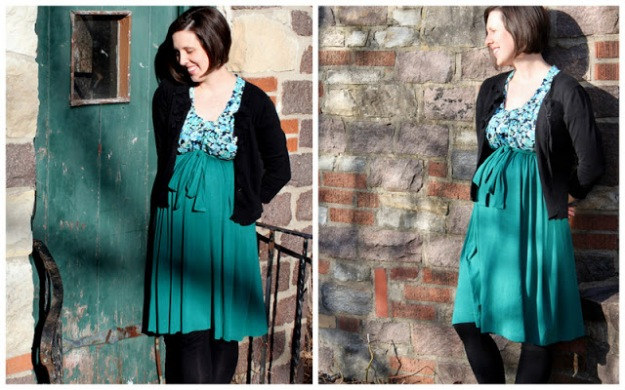 FREE PATTERN - Empire Waist Dress - by Versus Mag and brought to you by www.feedourlife.blog