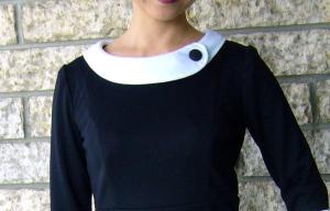 English Tutor dress collar