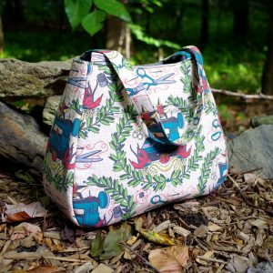 Ethel Tote FREE bag pattern by Swoon Sewing Patterns and brought to you by www.feedourlife.blog