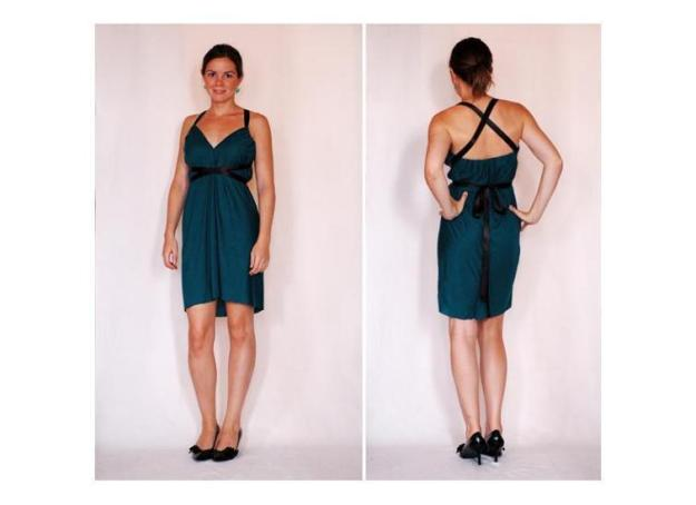 FREE PATTERN - Faith's 15 minute dress - by Design Fixation and brought to you by www.feedourlife.blog