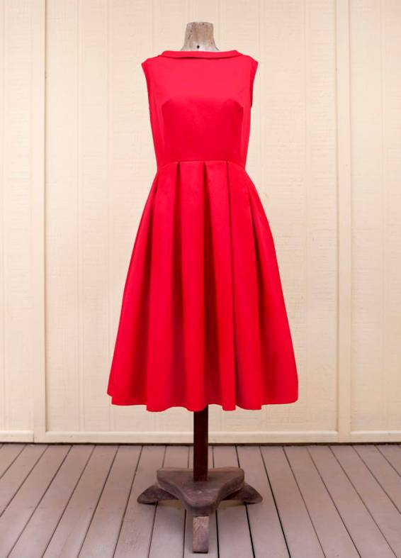 FREE PATTERN - Fifties Style Prom Dress - by Peppermint and brought to you by www.feedourlife.blog