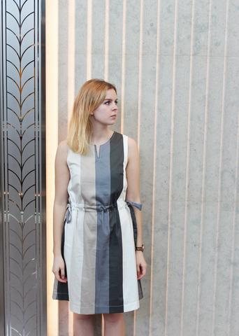 FREE PATTERN - Freja Dress - by Ploen Patterns and brought to you by www.feedourlife.blog