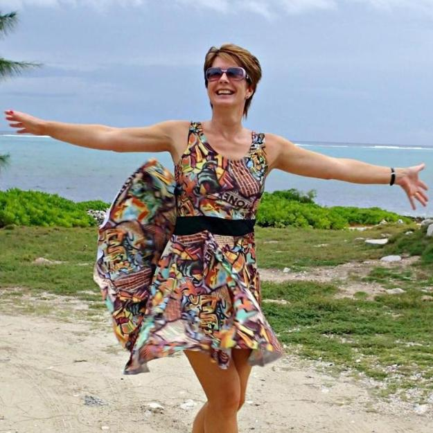 FREE PATTERN - Graffiti Dress - by So Sew Easy and brought to you by wwww.feedourlife.blog