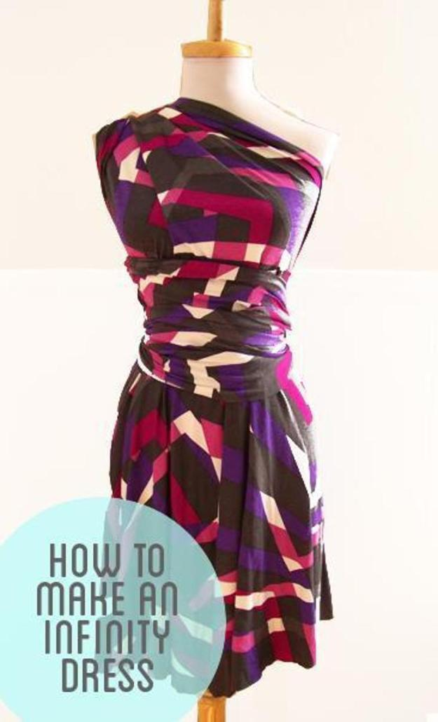 FREE PATTERN - Simple Wrap Dress - by Craft Habit.com Designs and brought to you by www.feedourlife.blog