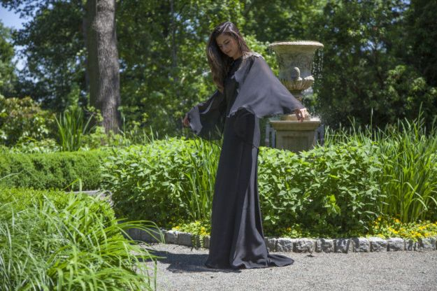 FREE PATTERN - Solandra Gown - by Mood Sewciety and brought to you by www.feedourlife.blog