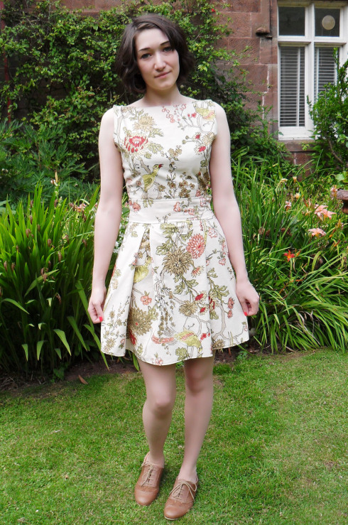 FREE PATTERN - Thrifty Summer Dress - by Culture of Thrift and brought to you by www.feedourlife.blog