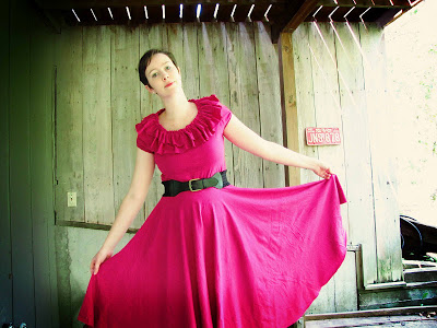 FREE PATTERN - Twirly Sundress - by Mama Says Sew and brought to you by www.feedourlife.blog